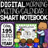 Morning Calendar Lessons for the Smartboard {for Smart Notebook Software}