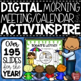 Morning Calendar Lessons for the Smartboard {ActivInspire Flipchart Software}