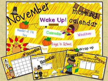 Morning Calendar- November