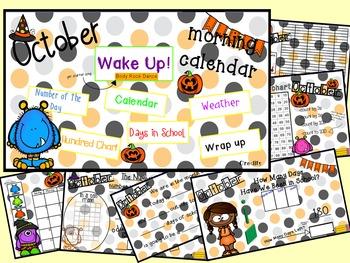 Morning Calendar- October