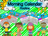 Morning Calendar Routine