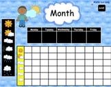 Interactive Morning Calendar  Math for SMARTBoard  83 Page Common Core