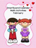 Smartboard Calendar Math Activities February