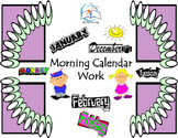 Morning Calendar Work