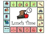 Autism:  Morning Calendar and Lunch Conversation Board