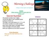 Morning Challenge