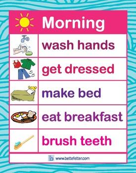 Morning Chart (Pink)