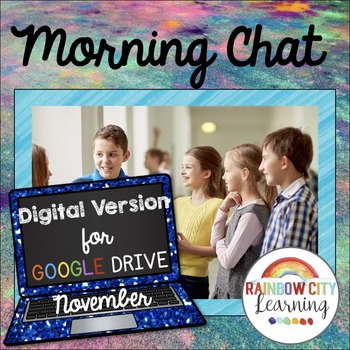 Morning Chat November Prompts Digital Version:Whiteboard a