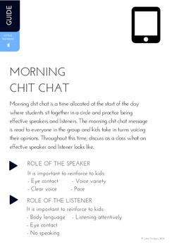 Morning Chit Chat #2