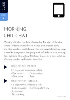 Morning Chit Chat BUNDLE