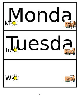 Morning Circle Days of the Week Dates Symbols boardmaker Special ED