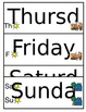 Morning Circle Days of the Week Dates Symbols boardmaker S
