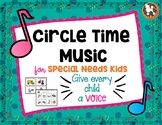 Circle Time Music for Special Needs Kids