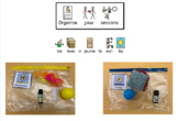 Morning Circle and Sensory Days Bundle PMLD/SLD/ASD Widgit Symbols, Tempates