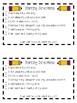 Morning Directions Checklist