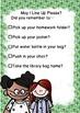 Morning Dismissal Checklist