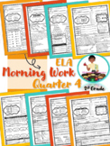 Morning Work- ELA and Reading Skills Review 4th Qtr (April, May, June)