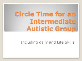 Morning Exercises for Class for Autistic Children