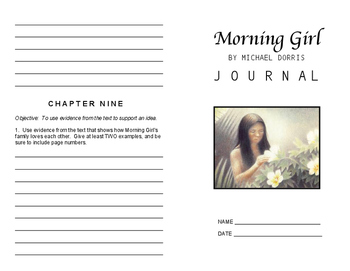Morning Girl Printable Journal Reflection Booklet