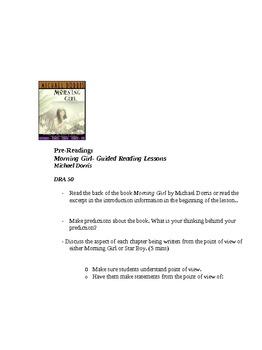 Morning Girl by Michael Dorris Literacy Guide