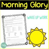 Morning Glory: Wake Up Work