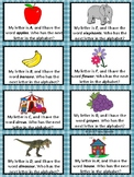 Morning Greeting Alphabet Task Cards