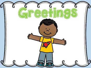 Morning Greeting Cards (Conscious Discipline)