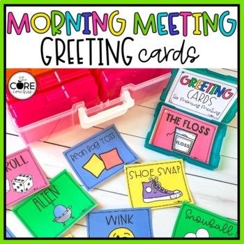 Morning Greeting Choice Cards