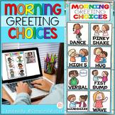 Morning Greeting Choices • Morning Greeting Signs