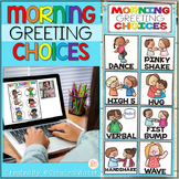 Morning Greeting Choices • Morning Greeting Signs -DISTANC