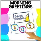 Morning Greetings Choices with No Touch Options DIGITAL &