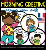 Morning Greeting (French & English): Learning Room Stuff