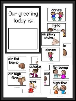 First Grade: Morning Greeting Poster