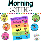 Morning Greeting Signs and Poster