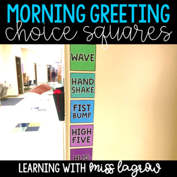 Morning Greeting Squares Posters
