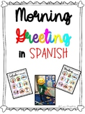 Morning Greeting in SPANISH/ Saludos- Updated with social