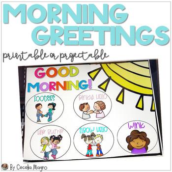 Paperless Morning Greetings Building Relationships  Bright Digital Version