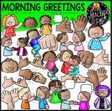 Morning Greetings Clip Art Set {Educlips Clipart}
