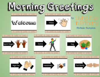 Morning Greetings Farmhouse Style