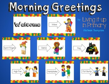 Morning Greetings LEGO Themed