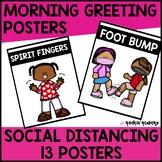Morning Greetings Social Distancing