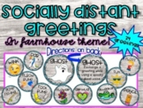 Morning Greetings! Socially Distant or not! 24 choices! Fa