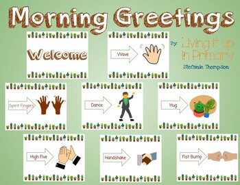 Morning Greetings Succulent Themed