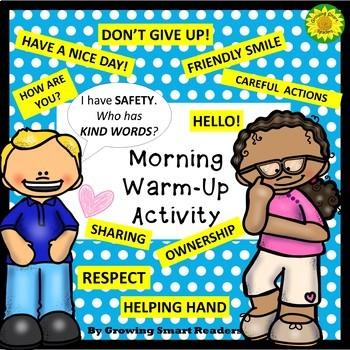 Morning Greeting Activity