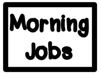 Morning Jobs
