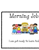 Morning Jobs Classroom Sign
