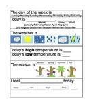 Morning Journal Daily Temperature & Feelings