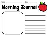 Morning Journal K-2