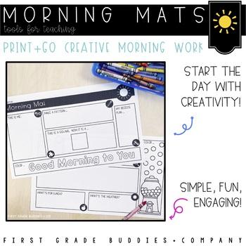 Morning Mat:  Morning Work Freebie