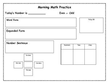 Morning Math